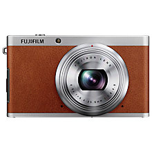 "Buy Fujifilm XF1 Digital Camera, HD 1080p, 12MP with 3"" LCD Screen, Tan Online at johnlewis.com"