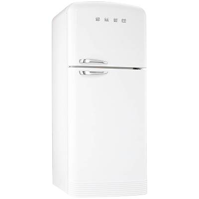Smeg FAB50B Fridge Freezer A Energy Rating 80cm Wide White