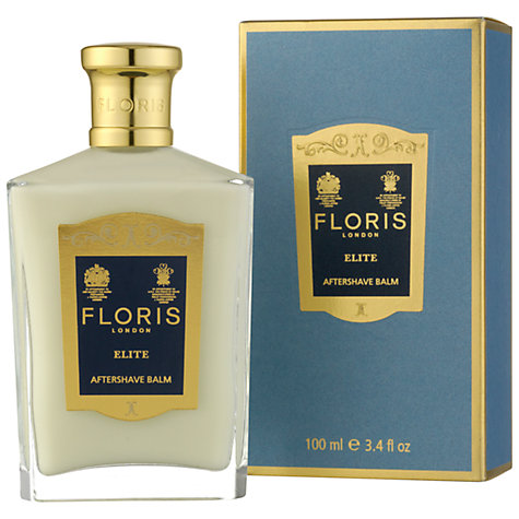 Buy Floris Elite After Shave Balm, 100ml Online at johnlewis.com