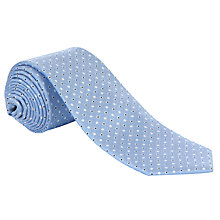 Buy John Lewis Dot Pattern Silk Tie Online at johnlewis.com