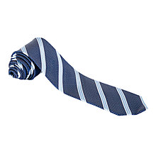 Buy John Lewis Dotted Stripe Pattern Tie Online at johnlewis.com