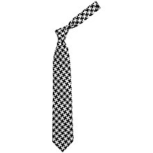 Buy Chester Barrie Savile Row Silk Houndstooth Tie Online at johnlewis.com
