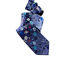 Buy Duchamp Priory Floral Patterned Tie Online at johnlewis.com