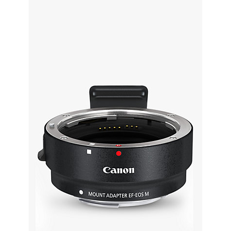 Buy Canon Mount Adapter EF-EOS M Online at johnlewis.com