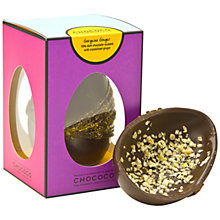 Buy Chococo Ginger Dark Chocolate Egg, 175g Online at johnlewis.com
