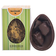 Buy Chococo Heavenly Honeycomb Milk Chocolate Egg, 175g Online at johnlewis.com