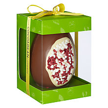 Buy The Cocoabean Company Eton Mess Milk Chocolate Egg, 350g Online at johnlewis.com