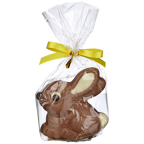Buy Natalie Chocolates Milk Chocolate Bunny, 75g Online at johnlewis.com