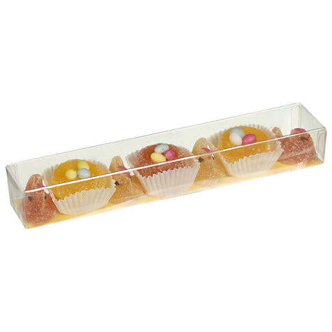 Buy Natalie Chocolates Fruit Jelly Hens and Nests, 125g Online at johnlewis.com