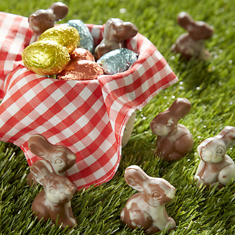 Buy Natalie Chocolates Praline Marbled Chocolate Rabbits and Foiled Mini Eggs, 150g Online at johnlewis.com