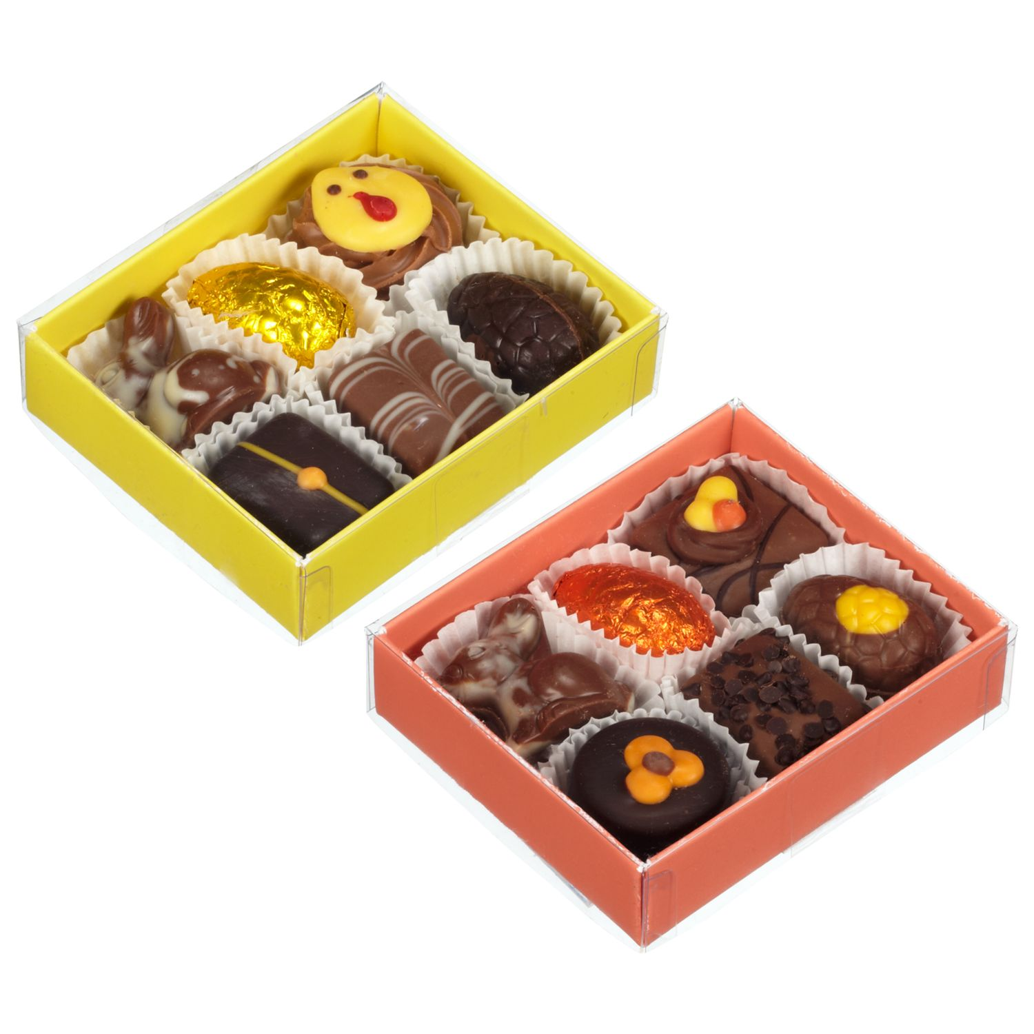 Natalie Chocolates Easter Belgium Chocolate Box, Pack Of 6, Assorted