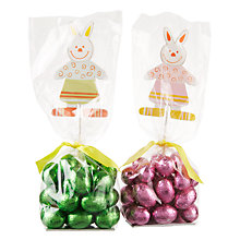 Buy Farhi Rabbit Picks with Milk Chocolate Praline Eggs, 200g, Assorted Online at johnlewis.com