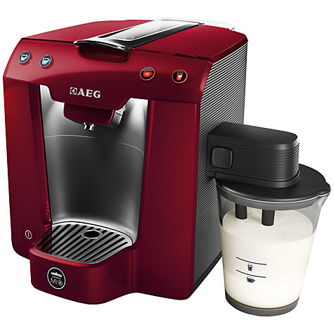 Buy Lavazza A Modo Mio Favola Cappuccino Coffee Machine by AEG Online at johnlewis.com
