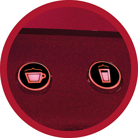 Buy Lavazza A Modo Mio Favola Coffee Machine by AEG, Red Online at johnlewis.com