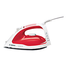 Buy Bosch TDA4626GB Multi-Directional Steam Iron, Red Online at johnlewis.com