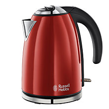 Buy Russell Hobbs Kettle and 2-Slice Toaster, Red Online at johnlewis.com