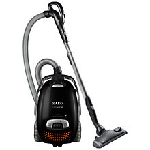 Buy AEG AUO8815B UltraOne Cylinder Vacuum Cleaner, Ebony Black Online at johnlewis.com