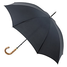Buy Fulton G807 Commissioner Walking Umbrella, Black Online at johnlewis.com