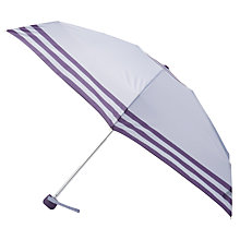 Buy John Lewis Stripe Mini Umbrella Online at johnlewis.com