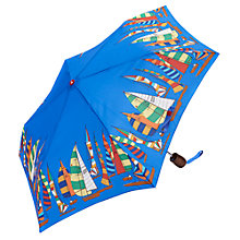 Buy Joules Brolly Regatta Umbrella, Blue Online at johnlewis.com
