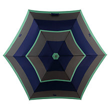 Buy Radley Stripe Mini Umbrella, Green Online at johnlewis.com