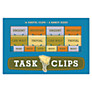 Knock Knock Task Clips, Set of 14
