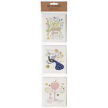 Buy Art File Woodland Notecards, Multi, Pack of 12 Online at johnlewis.com