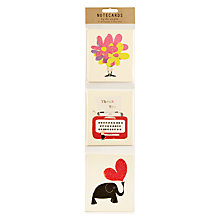 Buy Art File Ink Press Notecards, Multi, Pack of 12 Online at johnlewis.com