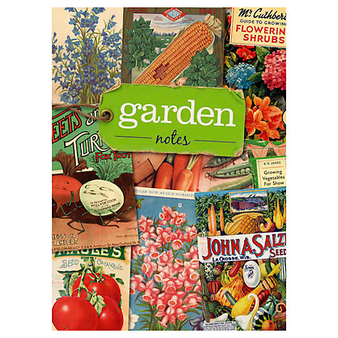 Buy Ryland Peters & Small Garden Notes Journal, Multi Online at johnlewis.com