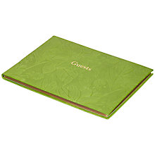 Buy Leathersmith of London Porcelain Guest Book, Apple Online at johnlewis.com