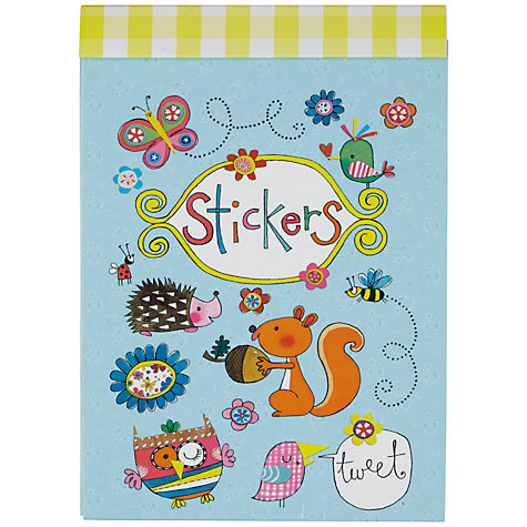 Buy Rachel Ellen Designs Woodland Creatures Sticker Match Notepad Online at johnlewis.com