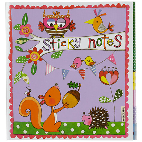Buy Rachel Ellen Designs Book of Sticky Notes Online at johnlewis.com