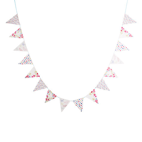 Buy John Lewis Daisy Bunting, Multi, L3m Online at johnlewis.com