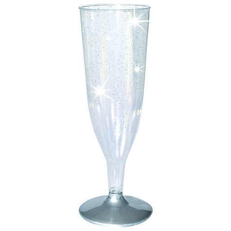 Buy Disposable Champagne Flutes, Set of 8 Online at johnlewis.com