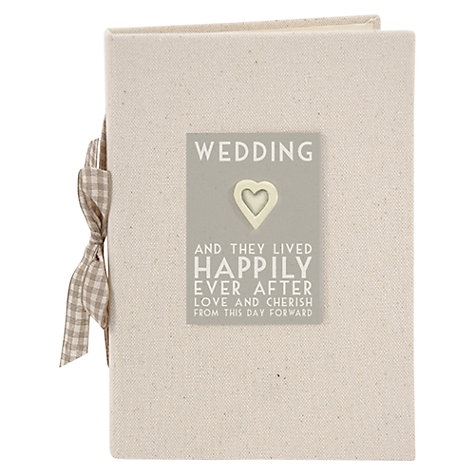 Buy East of India Happily Ever Photo Album, Natural Online at johnlewis.com