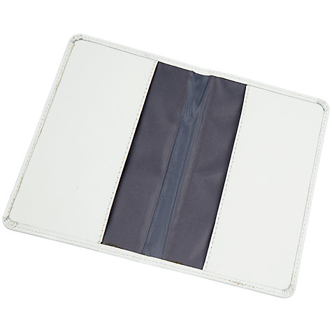 Buy John Lewis Mr and Mrs Passport Covers, White/Silver Online at johnlewis.com