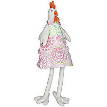 Buy Big Decs Ditsy Hen Easter Decoration, Pink Online at johnlewis.com