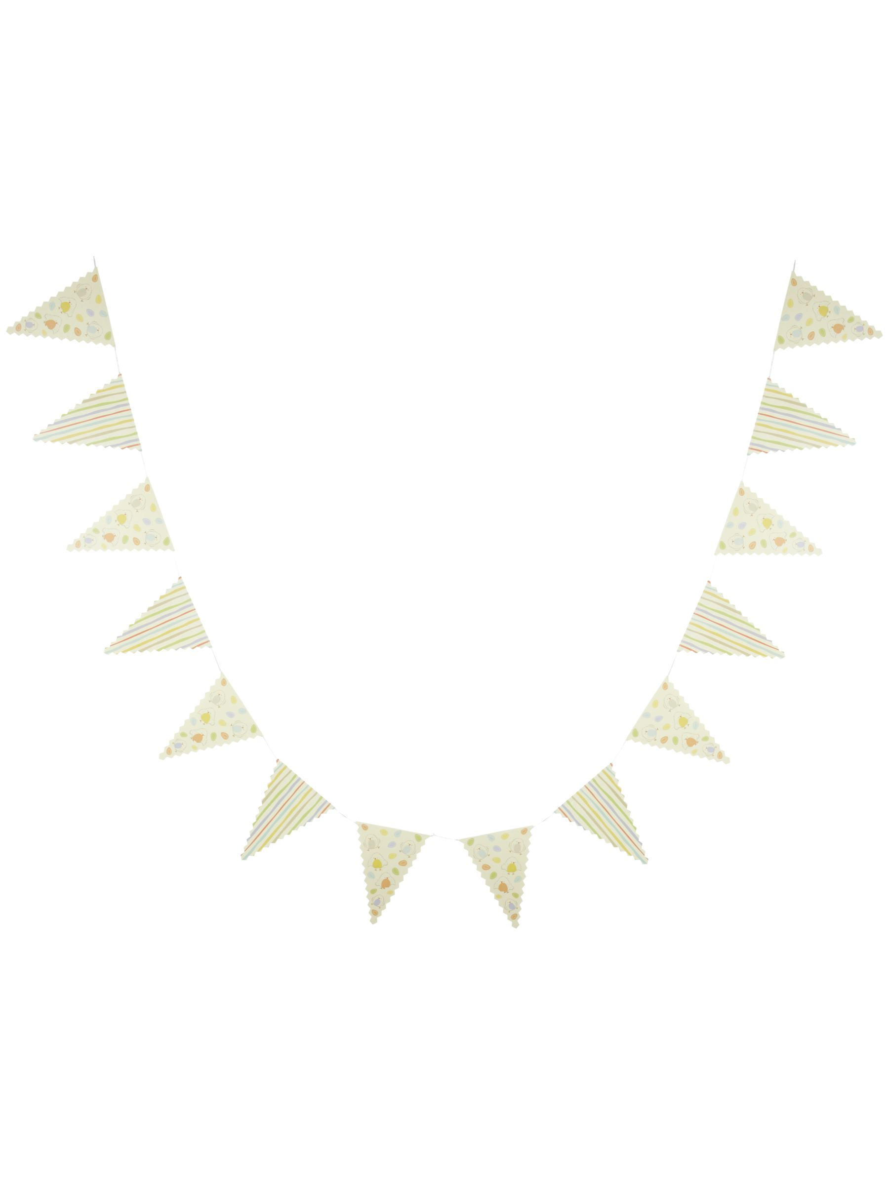 John Lewis Happy Easter Bunting, Multi