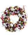 Big Decs Easter Wreath, Lilac