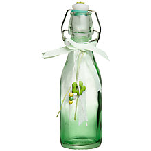 Buy John Lewis Glass Bottle, Green, Small Online at johnlewis.com