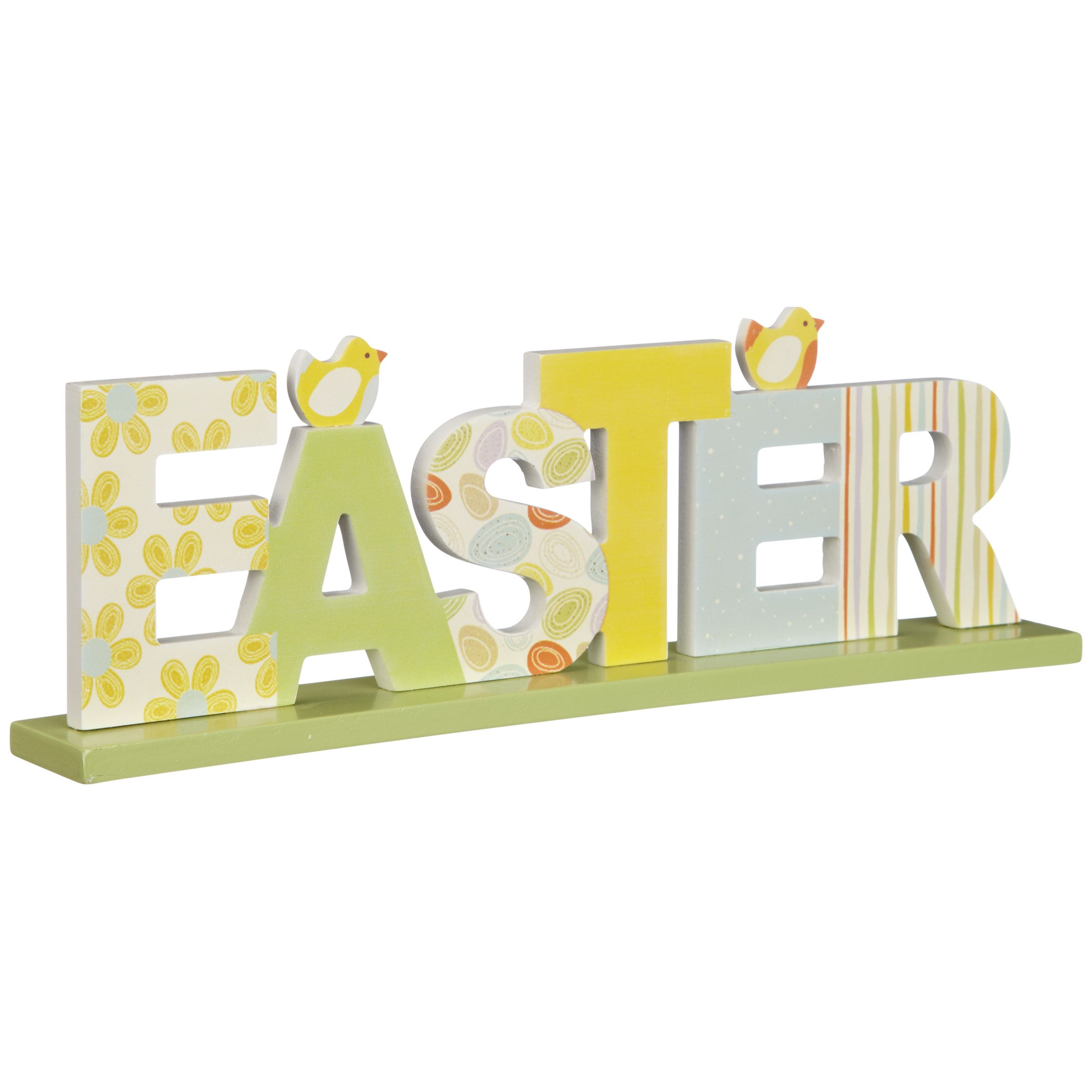 John Lewis Easter Freize Decoration, Multi
