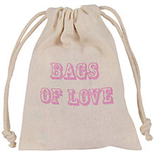 Buy Love Hearts Sweet Bag, 70g Online at johnlewis.com