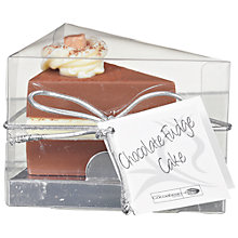 Buy The Cocoabean Company Chocolate Fudge Cake Chocolate Slice, 35g Online at johnlewis.com