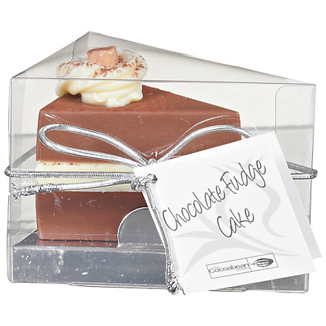 Buy Cocoabean Company Chocolate Fudge Cake Chocolate Slice, 35g Online at johnlewis.com