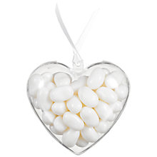 Buy Jelly Belly Coconut Jelly Beans Heart Mini Bag, 50g Online at johnlewis.com