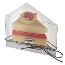 Buy Cocoabean Company Victoria Sponge Chocolate Cake Slice, 35g Online at johnlewis.com