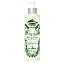 Buy Sisley Eau De Campagne Perfumed Bath and Shower Phytogel, 250ml Online at johnlewis.com