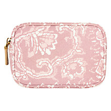 Buy AERIN Essentials Makeup Bag, Pink Online at johnlewis.com