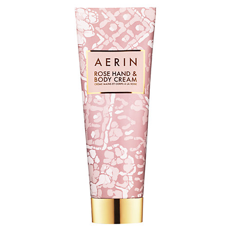 Buy AERIN Rose Hand & Body Cream, 125ml Online at johnlewis.com
