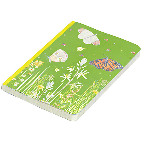 Buy Eco Journal Butterfly Fields by Jill Bliss Notebook, Multi, A5 Online at johnlewis.com